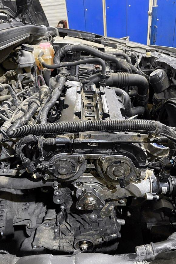 Процесс сборки двигателя A14NET