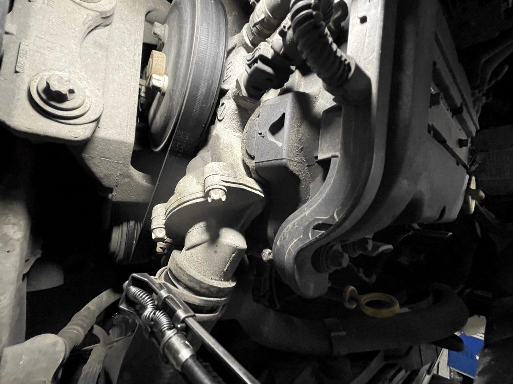 Неисправный термостат Opel