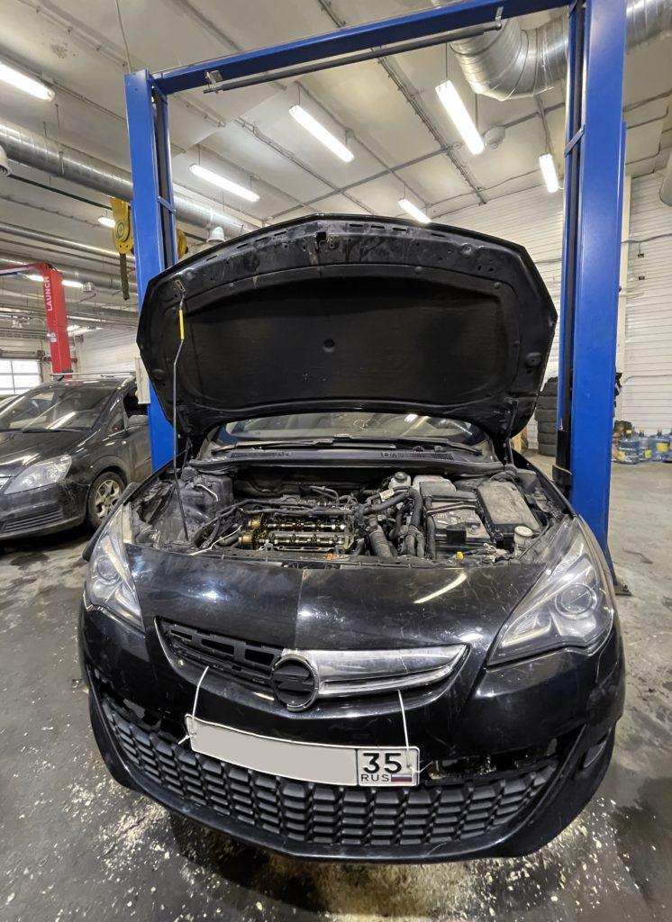 Ремонт Opel Astra J в специализированном сервисе Опель